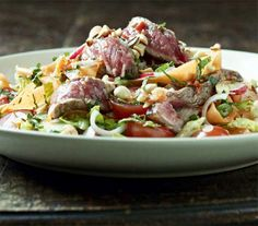 Gordon Ramsay loves this simple dressing with garlic, chilli, fish sauce, sugar and lime in Vietnam and Cambodia over this Spicy Beef Salad Recipe. It's the exotic twist of sour, sweet, salty and bitter, and works with most seafood and meat, but is particularly good with steak.