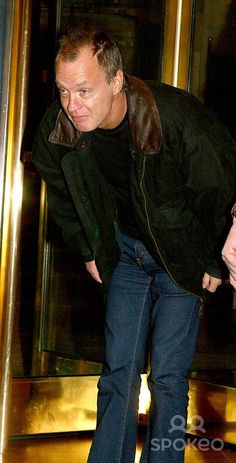 Out and About in New York City 03/16/2003 Photo by Rick Mackler/rangefinder/Globe Photos, Inc. 2003 Angus Young of Ac/dc