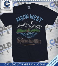 """Aaron West and the Roaring Twenties """"Mountains"""" Shirt"""