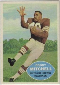1960 Topps #25 Bobby Mitchell