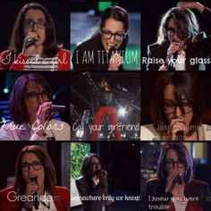 Michelle Chamuel. Not the prettiest person in the world, but one of the most beautiful on the inside #teamusher