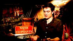 In The Footsteps of Robert Pattinson Robert Pattinson Movies, Water For Elephants, I Love Him, My Love, Watch One, Photos Tumblr, Hello Everyone, Awkward, Confessions