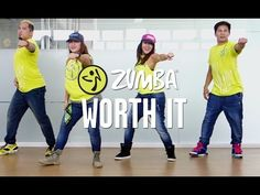 Worth It | Zumba Fitness | Live Love Party - YouTube