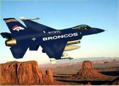 The Bronco's are flying high !