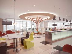 Interior Design  Lunch Room