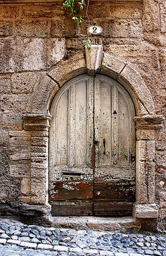 Ancient door, Pezenas - Languedoc - France