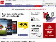 Réductions de SFR, code promo réduction et échantillons ou cadeaux gratuit de SFR