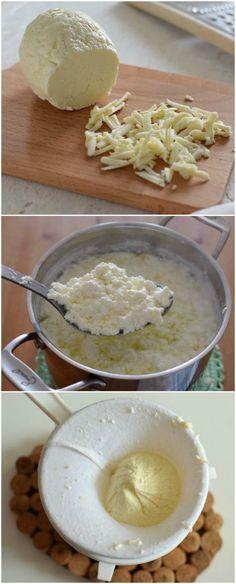 Queso fresco casero elaborado a partir de leche y vinagre, en un proceso totalmente artesanal con utensilios que tenemos disponibles en casa. Descubre mas en @bizcochosysan