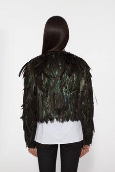 Must. Have.  FEATHER JACKET - chaserbrand