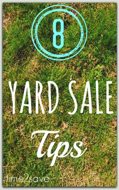 8 Best Yard Sale Shopping Tips