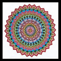 Zenbroidery Mandala Embroidery Kit