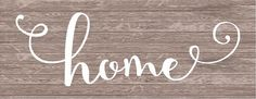 Home Sign Monogram - Rustic Wood Sign or Canvas Wall Hanging - Wedding, Anniversary Gift, Housewarming