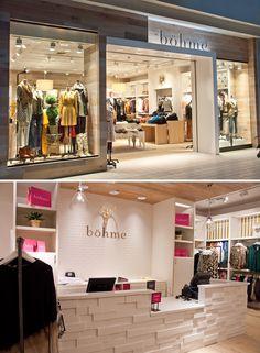 Store design for client Bohme in Spokane, Washington.