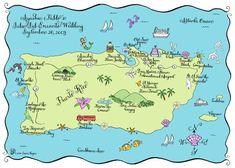 Puerto Rico Map (Draw)