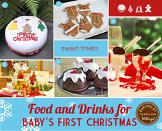Holiday Goodies and Drinks to Serve for Baby's First Christmas