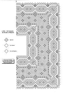 Bobbin Lace Patterns, Crochet Patterns, Bobbin Lacemaking, Lace Weave, Fillet Crochet, Needle Lace, Crochet Lace, Hello Kitty, Weaving