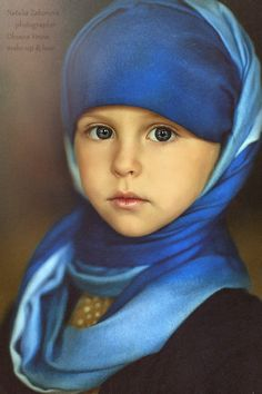 Beautiful Blue Turban