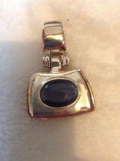 Vintage Gold And Black Pendant #1190 #Pendant