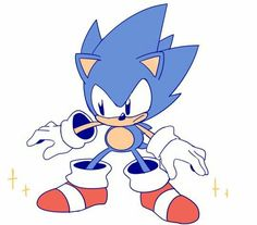 Classic Sonic The Hedgehog Sonic The Hedgehog, Hedgehog Art, Sonic Dash, Sonic And Amy, Sonic Satam, Character Art, Character Design, Classic Sonic, Sonic Mania
