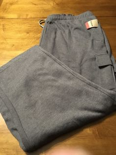 Reebok Sport Gray Stretch Sweat Active Pants Men's Big N Tall Size 3XL New! #Reebok #TracksuitsSweats