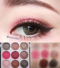 With Etude House Pink Skull eye palette