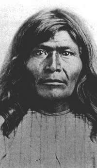 Victorio - Warm Springs Apache, his last break-out was the beginning of the US Army's last Indian campaign in Texas.  In 1879, Victorio's band attacked a company of 9th Cavalry in New Mexico, killed 8 troopers and escaped with 46 horses. The next nine months were spend raiding and killing civilians on both sides of the border. Although he had used the Chihuahuan mountains as a refuge for years, Victorio survived only 2 more months before being cornered and killed by Mexican soldiers.
