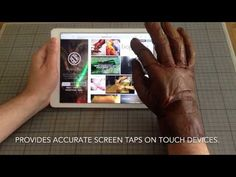 ScobyTec - Form-fitting glove made from bacterial cellulose. Made from semi-processed kombucha leather - due to hydrophilic properties of the material the glove provides reliable accurate screen taps on touch devices.