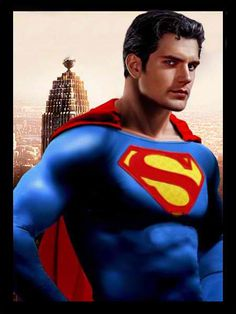 Henry Cavill as Superman 2012