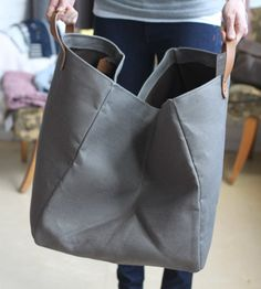 French linen bag, Alder & Co.