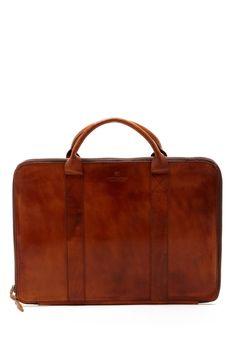 Scotch & Soda Leather Travel Laptop Case