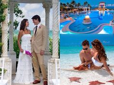#weddingmoons #honeymoon #brides #destinationwedding # Sandalsresorts