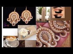 Soutache jewellery - YouTube
