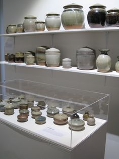 Lidded pots and caddies of all sizes