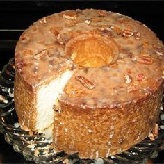 Pecan Sour Cream Pound Cake - Allrecipes.com