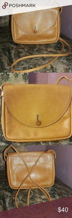 "Vintage Jil Sander crossbody bag. Leather bag,snap closure,embossed logo. Great condition. 8.5"" L x 6.5""H Jil Sander Bags Crossbody Bags"