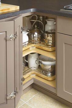 Turn useless corner space into maximum storage space. Chrome rails provide additional support to prevent items from possibly falling off.