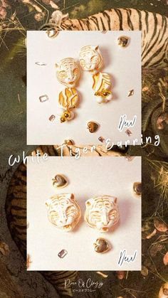 Antique Jewelry, Vintage Jewelry, Earring Crafts, Diy Accessories, Polymer Clay Earrings, Designer Earrings, Statement Earrings, Retro Fashion, Place Card Holders