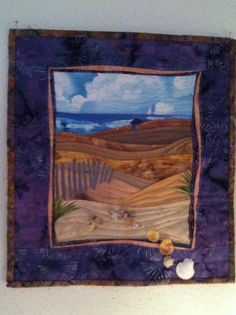 My mom's wall hanging - Beach Scene