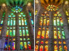 stained glass sagrada familia | Gaudi's Cathedral, La Sagrada Familia - Julie Shipman Photography in ...