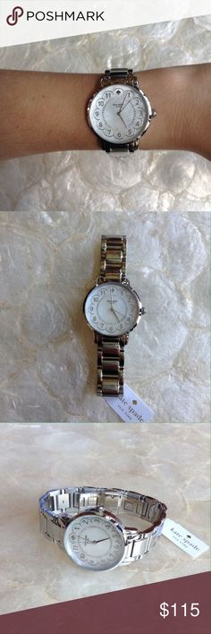 Kate Spade New York Gramercy Ladies Watch 1YRU0792 100% authentic Kate Spade New York Gramercy Mother of Pearl Dial Ladies Watch 1YRU0792. Kate Spade logo marks the 12 o'clock position. Quartz movement. Case size 34 mm. kate spade Accessories Watches Sale! Up to 75% OFF! Shot at Stylizio for women's and men's designer handbags, luxury sunglasses, watches, jewelry, purses, wallets, clothes, underwear & more!