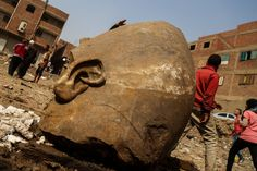 Archaeologists discovered a massive statue of one of Egypt's greatest rulers - The Verge