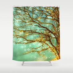 botanical shower curtain in chartreuse design by thomas paul household interior designs and models pinterest burke decor interiors and house