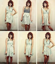 Infinity dress. SO cute.