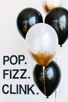 We've invited Kelly Lanza, party planning expert and founder of Studio DIY, to share a few fun, sparkly and balloon-filled ideas for creating 'The Ultimate New Year's Eve Party!'   Click to find out everything you need to know for throwing a glitzy #NewYear's Eve affair!
