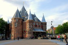 The Waag in Amsterdam - Weigh house