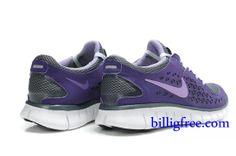 buy online 820c1 fbf07 Billig Schuhe Damen Nike Free Run + (Farbe Vamp-grau,lila,innen,Logo-purple Sohle-weiB)  Online in Deutschland.