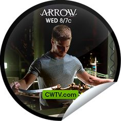 """Deadshot sets his sights on Arrow! You've unlocked """"Lone Gunmen"""" sticker on CWTV.com. Share this one proudly. It's from our friends at The CW."""