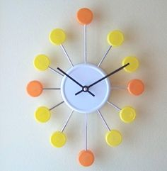 DIY Bottle Cap Clock