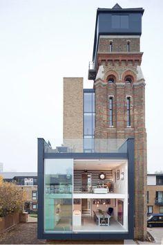 London and it's creative modern design.