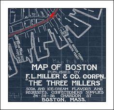 44 best blueprint maps images on pinterest long island rhode blueprint map by watercolormaps2 2500 malvernweather Images